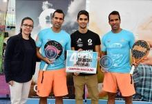 Open de Padel Barcelo 2017 campeones masc fed premios