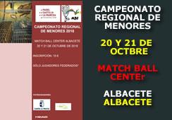 Campeonato Regional de Menores Castilla La Mancha 2018