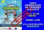 4ª Prueba Copa Federación de Menores 2019 Albacete