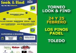 Torneo Look & Find Los Pinos