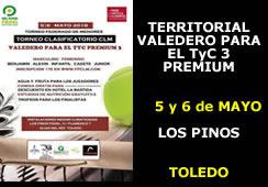 Torneo Territorial Valedero para el TyC 3 Premium