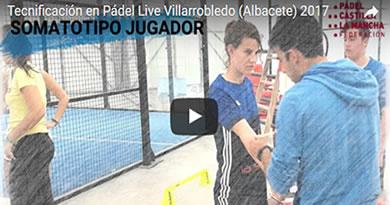 Tecnificación de menores de la FPCLM en Villarobledo (Albacete)