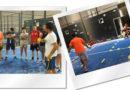 Instantáneas del Curso de Monitor y Técnico Deportivos Nivel 1 de Pádel (parte específica) celebrado en el Club Pádel Tinajas en Valdepeñas