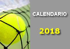 CALENDARIO PROVISIONAL FPCLM PARA 2018