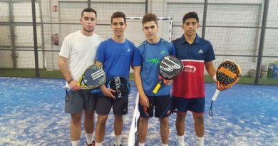 La Copa Federación de Menores tuvo su segunda prueba ciudadrealeña en Pádel Tinajas