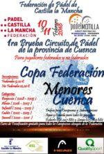 Motilla del Palancar acogerá la primera prueba de la Copa Federación de Menores en Cuenca