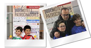 Album primera prueba de la Copa Federación en Cuenca: Pádel Motilla