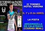 II Torneo de Pádel Hotel Verona – Centro de Ocio La Pista