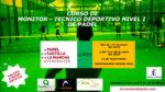 Se convoca el Curso de Monitor y Técnico Deportivo Nivel I 2018