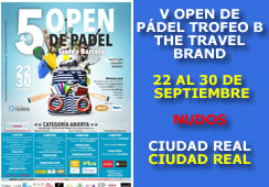 5º Open de Pádel Tofeo Barceló The Travel Brand