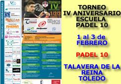 Torneo IV Aniversario Escuela Pádel 10