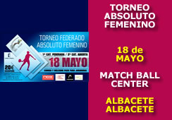 Torneo Absoluta Femenina Match Ball Center