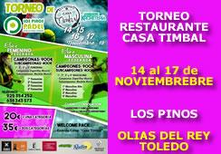 Torneo Federado Restaurante Casa Timbal