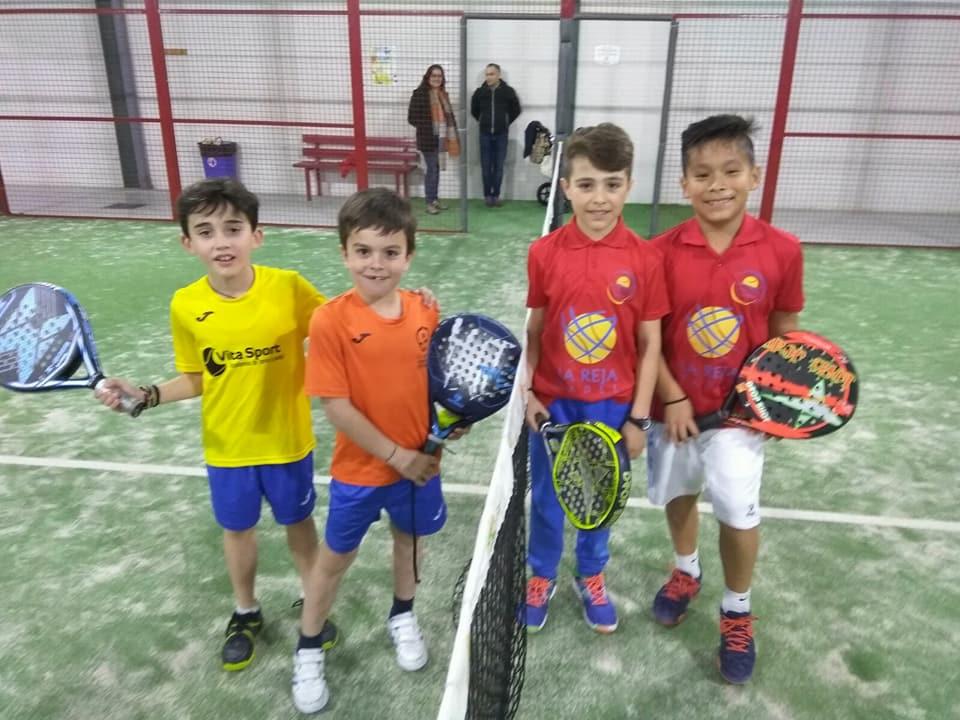 La primera prueba de la Copa Federación de Menores de la provincia de Toledo se celebró en La Reja Pádel