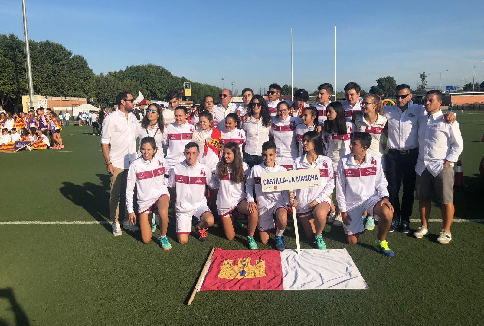 Las Selecciones Castellano-Manchegas en el Campeonato de España de Padel de Selecciones Autonómicas de Menores