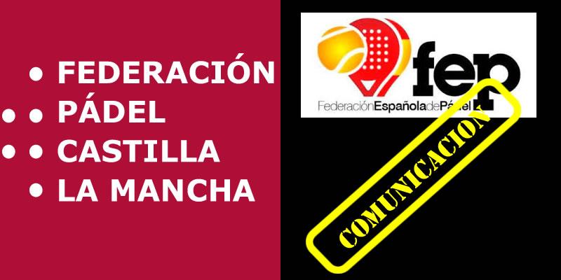 Comunicado de las Federaciones Autonómicas de Cantabria, Galicia, Baleares, Ceuta, Melilla, Asturias y Castilla La Mancha