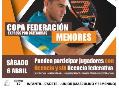 La Copa Federación de Menores 2019 Toledo se traslada a Talavera de La Reina