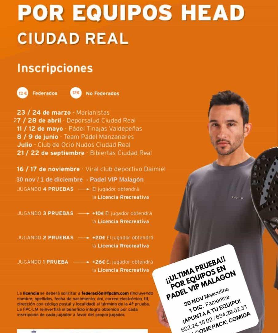Ultima prueba del I Circuito Head por Equipos de Ciudad Real