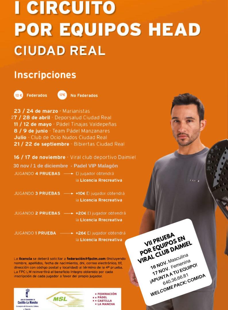 Penúltima prueba del I Circuito Head por Equipos Ciudad Real
