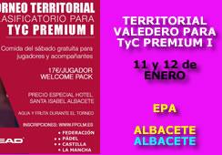 Torneo Territorial Clasificatorio para el TyC Premium I