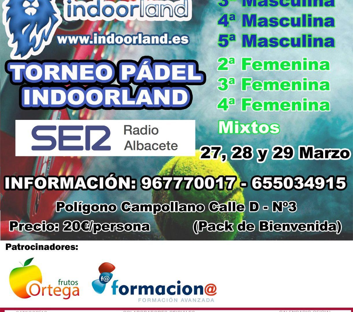 Torneo federado Circuito Provincial de Albacete Indoorland