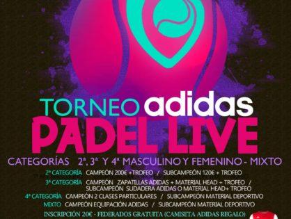 Torneo federado PADEL LIVE Villarrobledo