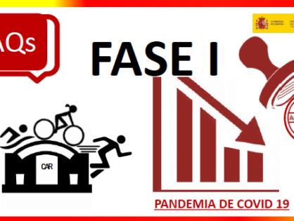 FAQS CSD FASE I