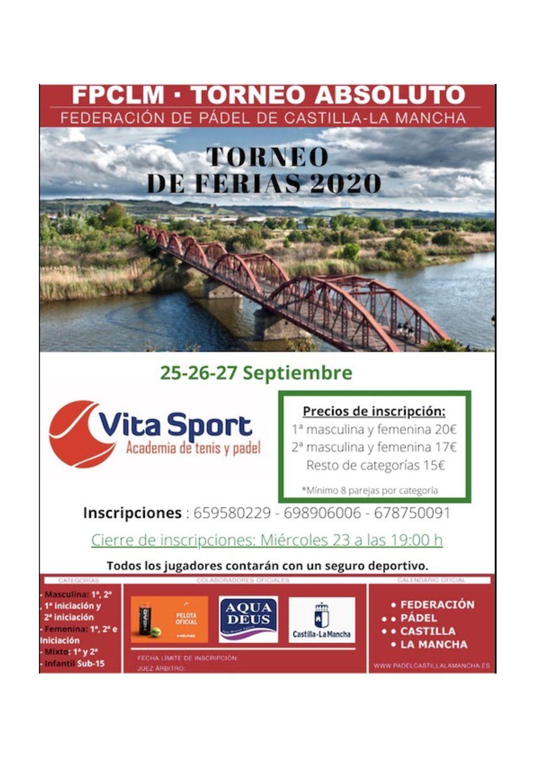TORNEO DE FERIAS 2020 VITASPORT