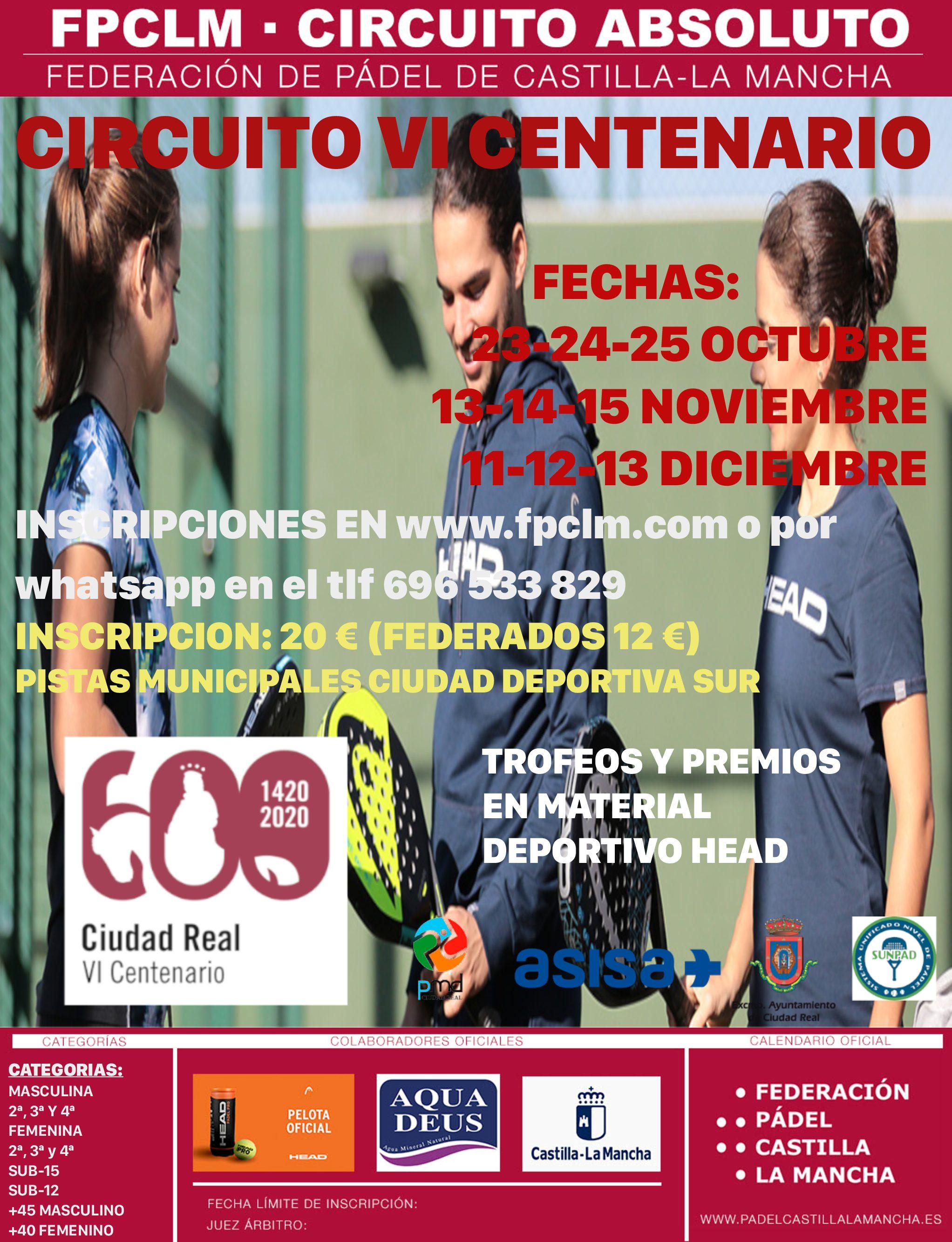 CIRCUITO VI CENTENARIO Ciudad Real