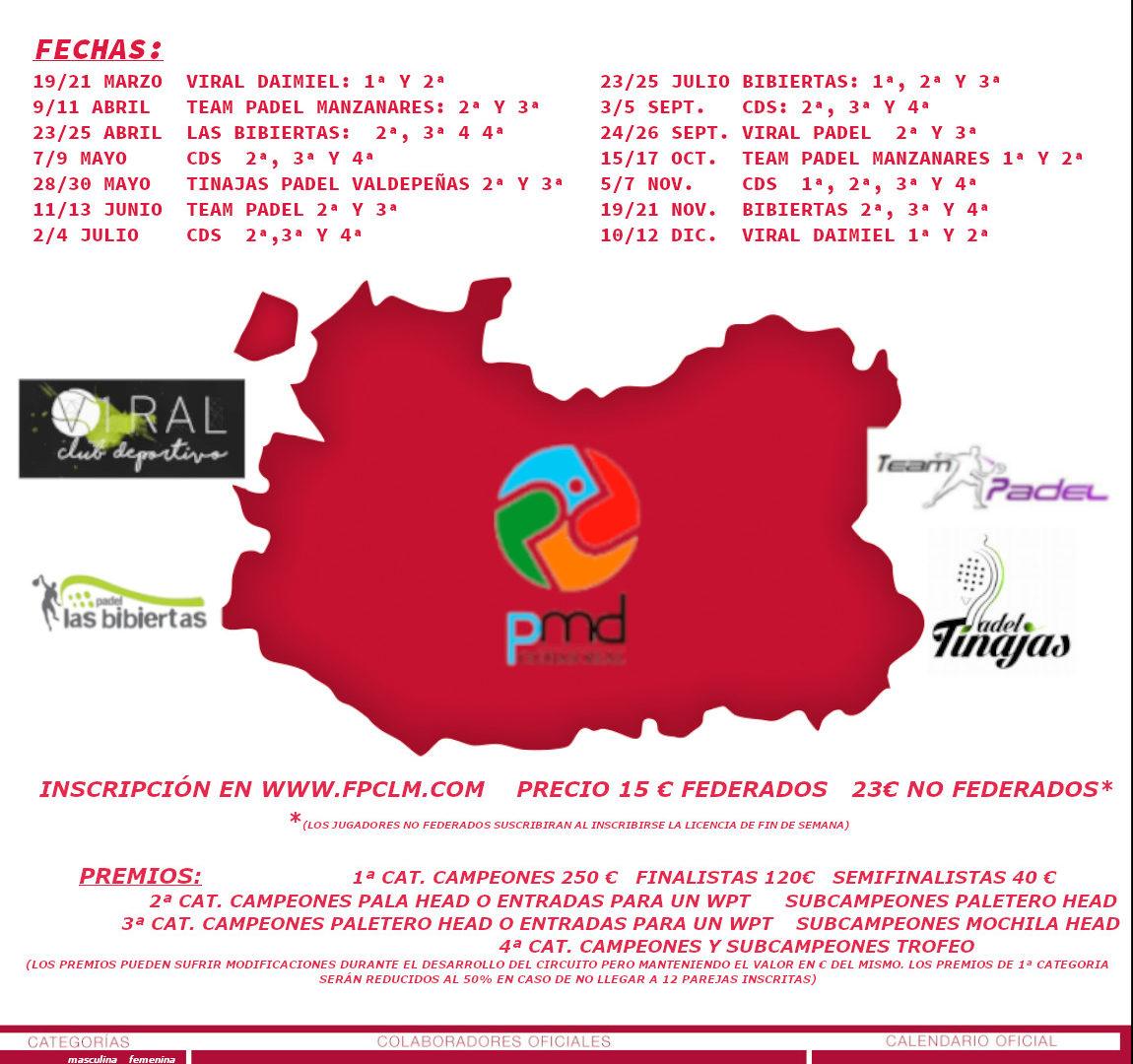 CIRCUITO DE PADEL FEDERADO Ciudad Real 2021