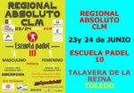 Campeonato Regional Absoluto de Pádel Castilla la Mancha 2018