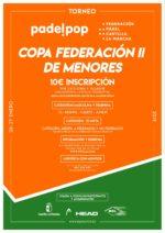 Este fin de semana se celebrará la primera prueba de la Copa Federación de Menores en Albacete