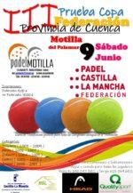 La Copa Federación de Menores en Cuenca vuelve a Pádel Motilla