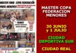 Master Copa Federación de Menores 2018
