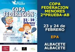 II Prueba Copa Federación de Menores Albacete 2019