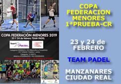 I Prueba Copa Federación de Menores Ciudad Real 2019