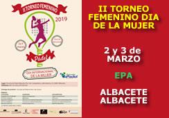 II Torneo Femenino Día Internacional de la  Mujer
