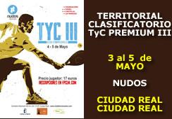 Territorial CLM Clasificatorio para el Tyc Premium III
