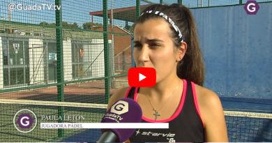 Guada Tv entrevista a Paula Letón, jugadora de la Selección de Pádel de Castilla La Mancha 2019